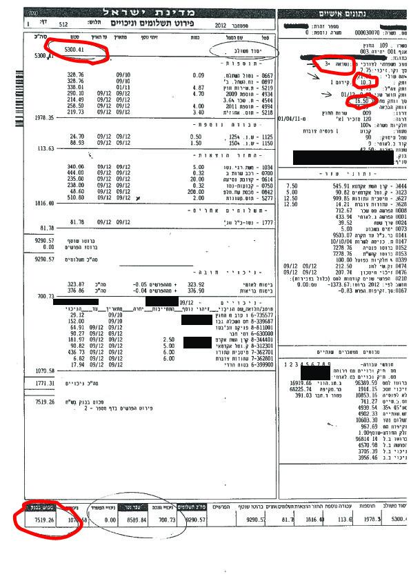 תלוש שכר לדוגמה של עובדי משרד החוץ עם וותק של מעל 15 שנים במשרד, איפה המספרים שהאוצר מספר עליהם, האם יכול להיות שהאוצר משקר במצח נחושה?